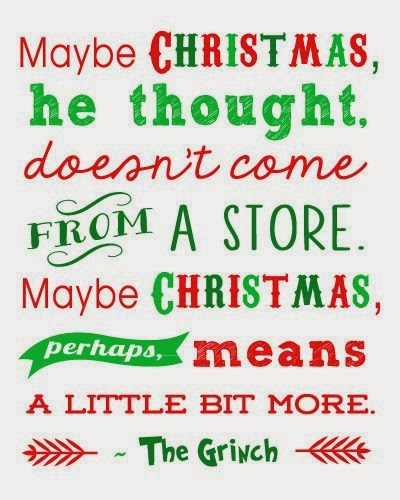 maybe Christmas doesn't come from a store